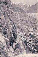 Chamonix Alpinistes, Le Mauvais Pas (7830) - Alpinisme