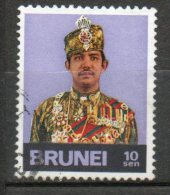 BRUNEI Sultan Hassanal Bolkiah 1974 N°195 - Brunei (1984-...)