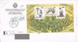 """San Marino - FDC (R) """"Art Chinois - Armée De Qin - Soldats En Terre Cuite"""" - 10 Jul 86 - Archéologie"""