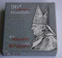 VATICANO 2010 - THE 5 EURO SILVER COIN , POPE BENEDICT XVI PONTIFICATE - Vaticano (Ciudad Del)