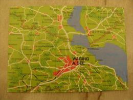 Deutschland -  Map Karte Carte - Waging Am See - Tettenhausen    D112004 - Waging