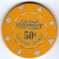 Jeton Chip De Casino Las Vegas : Sam Boyd´s Fremont Hotel Casino 50 Cent - Casino