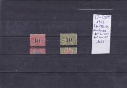 TIMBRES DU SENEGAL NEUF (*) N R 27-29 (*) 1903 TIMBRES DE 1892-93 SURCHARGE COTE 105€ - Sénégal (1887-1944)