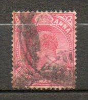 BRUNEI  1a Rouge Carminé 1906 N°75 - India (...-1947)