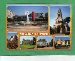 Rillieux-la-Pape (fontaine église Immeuble Château) - Rillieux La Pape