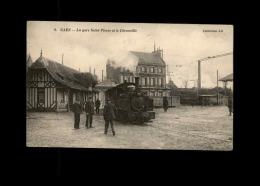 14 - CAEN - La Gare Saint-Pierre Et Le Décauville - Train - Caen