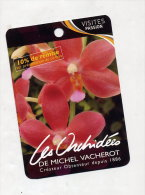 Fiche Visite Orchidee De Vacherot - Advertising