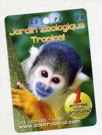 Fiche Visite Zoo Tropical Londe - Advertising