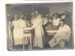 13008 PHOTO Salle Opération Medecin Infirmiere. Guerre 1918  Bergues ? Pas De Référence - War, Military