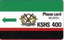 KENYA AUTELCA 1ERE SERIE SET 400U KEN04 UT - Kenia
