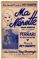 Partition - Ma Nénette De Rey Charrys - Partitions Musicales Anciennes