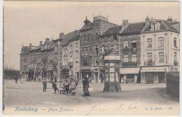 19484g KIOSQUE à JOURNEAUX - BOUCHERIE - PATISSERIE - Place Simonis - Koekelberg - Koekelberg