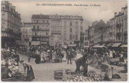 19493g MARCHE - PLACE SAINT JOSSE - Saint-Josse-ten-Noode - 1919 - St-Josse-ten-Noode - St-Joost-ten-Node