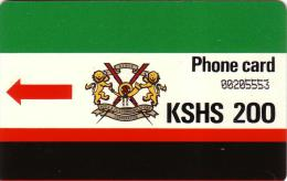 KENYA AUTELCA 1ERE SERIE SET 200 KSHS KEN03 UT - Kenia