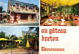 """Restaurant """" Au Gateau Breton """" Chenonceaux , Indre & Loire , L.hérembert , Propriétaire - Chenonceaux"""