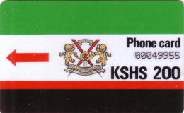 KENYA AUTELCA 2ERE SERIE SET 200 KSHS  UT - Kenia