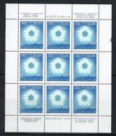 YUGOSLAVIA 1978 - Yvert #1619 Minipliego - MNH ** - Hojas Y Bloques
