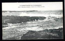 Cpa Du  56  Ile De Groix  Rochers De La Pointe Des Chats   No 7104  ---- THO2 - Groix
