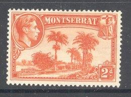 MONTSERRAT, 1938 2d (P13) Very Fine Light MM , Cat £23 - Montserrat