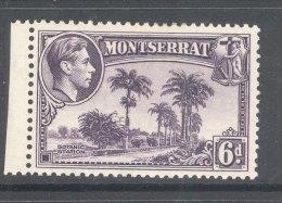 MONTSERRAT, 1938 6d (P13) Very Fine Light MM , Cat £23 - Montserrat