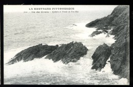 Cpa Du  56  Ile De Groix  Rochers Et  Pointe De Pen Men     No 7114  ---- THO2 - Groix