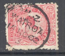 NEW ZEALAND, A Class Postmark WAIROA On Pictorial Stamp - 1855-1907 Crown Colony