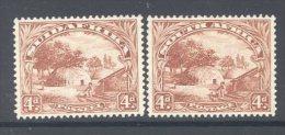 SOUTH AFRICA, 1930 Rotogravure 4d Pair (wmk Inverted) Very Fine MM, SG46c - Afrique Du Sud (...-1961)