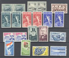 SOUTH AFRICA, 1933-50s Fine MM Collection Including Sets Very Fine MM, Cat £24 - Afrique Du Sud (...-1961)