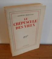 Le Crepuscule Des Vieux. Par Georges Bernanos. 1956. Edition Originale. - 1901-1940