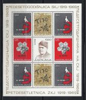 YUGOSLAVIA 1969 - Yvert #H12 - MNH ** - Hojas Y Bloques
