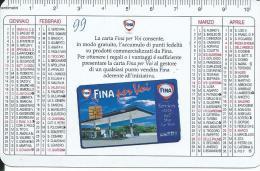 CAL522 - CALENDARIETTO 1999 - FINA - Formato Piccolo : 1991-00