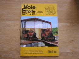 VOIE ETROITE N° 162 Revue APPEVA Train Tram Tramways Autorail Chemins De Fer Rail CF Grenoble Villard De Lans USA GVL - Ferrocarril & Tranvías
