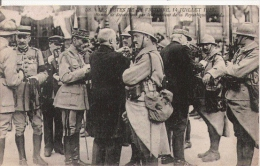 LES FETES DE LA VICTOIRE 14 JUILLET 1919 REMISE DE DECORATIONS PAR LE PRESIDENT DE LA REPUBLIQUE - Weltkrieg 1914-18