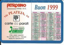 CAL541 - CALENDARIETTO 1999 - PETROSINO - TARANTO - Formato Piccolo : 1991-00