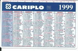CAL544 - CALENDARIETTO 1999 - PETROSINO - CARIPLO - Formato Piccolo : 1991-00