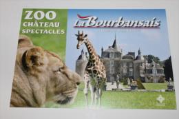 ZOO LA BOURBANSAIS. PLEUGUENEUC. - France
