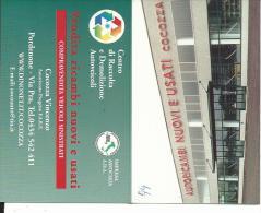 CAL547 - CALENDARIETTO 1999 - CENTRO DI RACCOLTA E DEMOLIZIONE AUTOVEICOLI - PORDENONE - Formato Piccolo : 1991-00