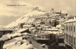 [DC7100] CAMPOBASSO - CAMPOBASSO CON LA NEVE - Old Postcard - Campobasso