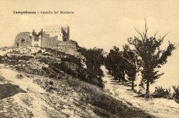 [DC7101] CAMPOBASSO - CASTELLO MONFORTE - Old Postcard - Campobasso