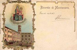 [DC7102] MONTENERO (CAMPOBASSO) - RICORDO DI MONTENERO - IN RILIEVO - Viaggiata 1905 - Old Postcard - Altre Città