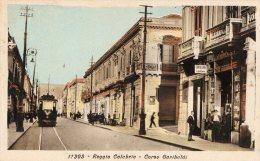 [DC7106] REGGIO CALABRIA - CORSO GARIBALDI - Old Postcard - Reggio Calabria