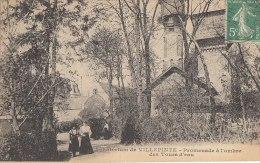 93 VILLEPINTE  CHATEAU D' EAU  Femmes Promenade à L' Ombre Des Tours D' EAU  En 1916 - Villepinte
