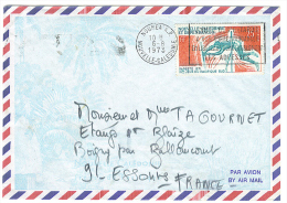 VEND TIMBRE DE NOUVELLE - CALEDONIE N° P.A. 122 , SUR LETTRE !!!! - Briefe U. Dokumente