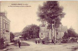 41  SAVIGNY SUR BRAYE La Place Du Champ De Foire Et L'Hospice - France