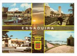 Essaouira , Mehrbildkarte , Le Port - Hotel Des Iles - Jardin Du Mechouar - Skala - Zonder Classificatie