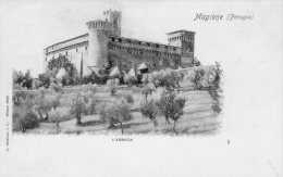 [DC7148] MAGIONE (PERUGIA) - L'ABBAZIA - Old Postcard - Italy