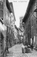 [DC7156] ASSISI (PERUGIA) - VIA EUGENIO BRIZZI - Old Postcard - Italy