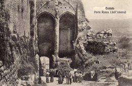 [DC7158] ORVIETO (TERNI) - PORTA ROCCA - DALL'INTERNO - Old Postcard - Italy