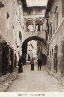 [DC7160] SPOLETO (PERUGIA) - VIA MONTERONE - Old Postcard - Italy