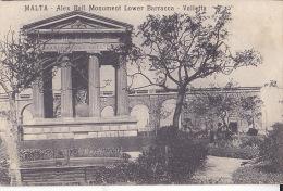 MALTA - ALEX BALL MONUMENT LOWER BARRACOA - VALLETTA - Malte